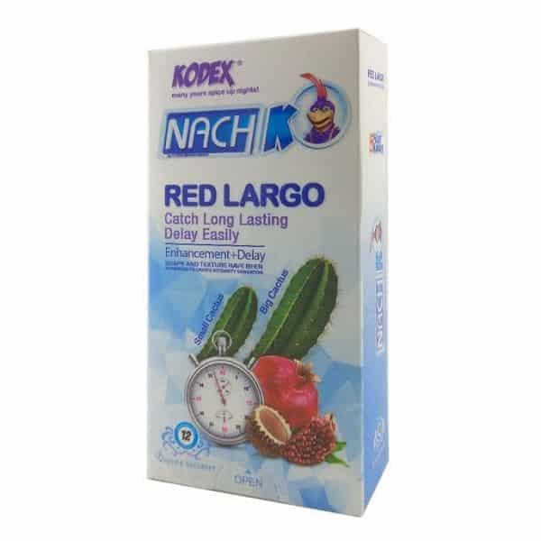 کاندوم-ناچ-کدکس-بزرگ-کننده-و-تاخیری-kodex-red-cactus
