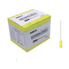 سرسوزن-گیج-۳۰-زرد-vekto