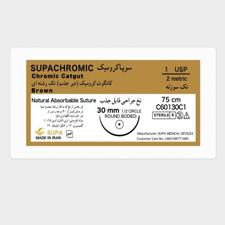 نخ-جراحی-کرومیک-راند-بادید-۱-سوپاکرومی